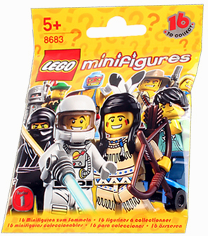 Обзор минифигурок LEGO Collectable Minifigures 8683 Series 1