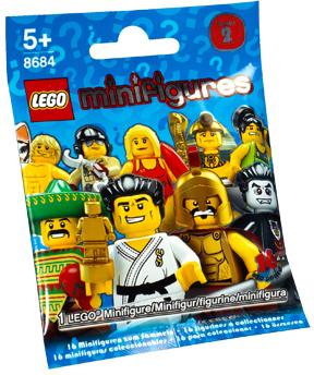 Обзор минифигурок LEGO Collectable Minifigures 8684 Series 2