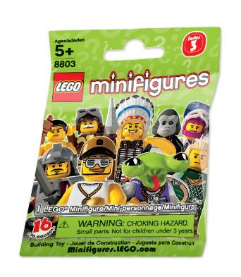 Обзор минифигурок LEGO Collectable Minifigures 8803 Series 3