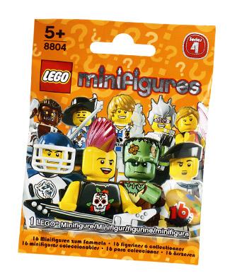 Обзор минифигурок LEGO Collectable Minifigures 8804 Series 4