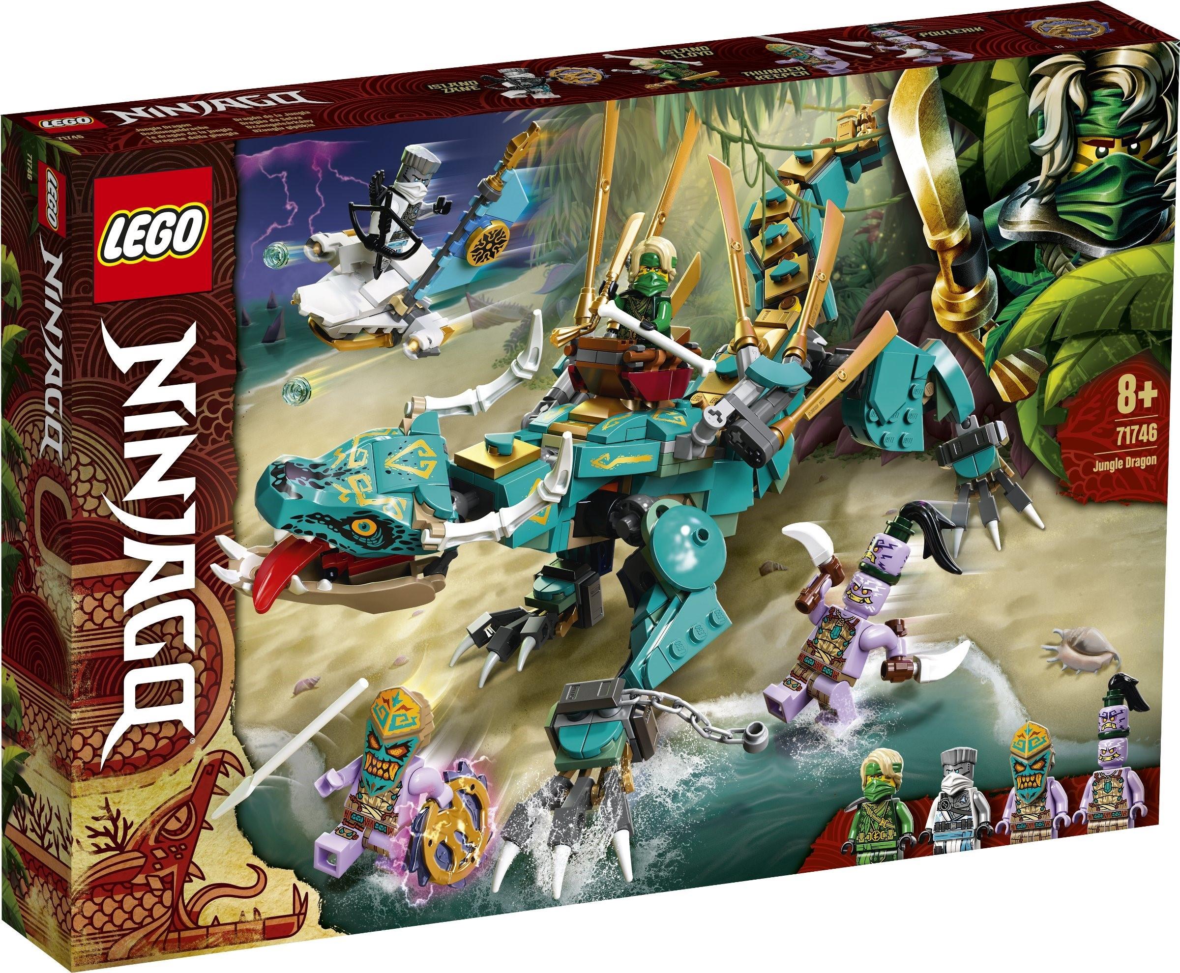 Огляд набору Lego Ninjago 71746 Jungle Dragon