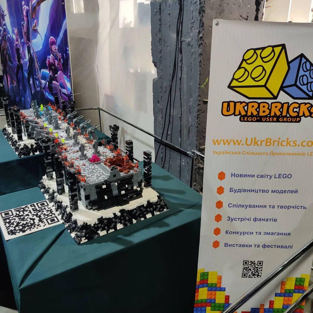UkrBricks на фестивалі Comic Con Ukraine 2021