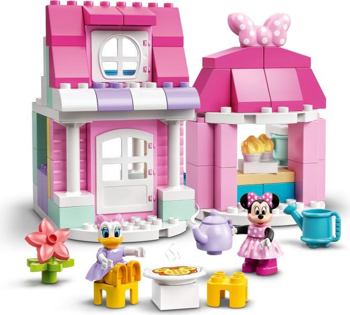 Огляд набору LEGO Duplo 10942 Minnie's House and Cafe