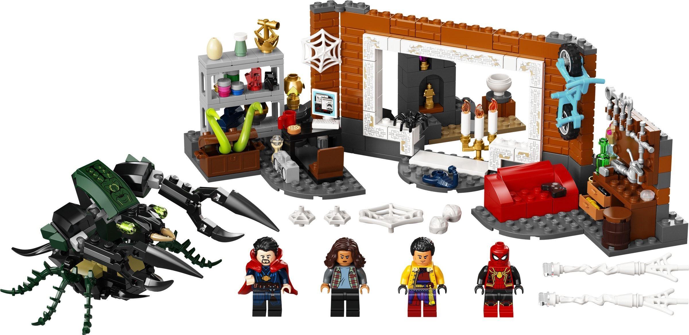 Огляд набору LEGO Marvel Super Heroes 76185 Spider-Man at the Sanctum Workshop