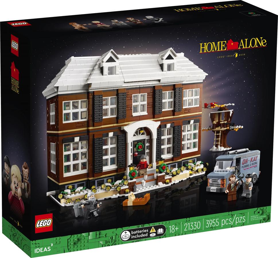 LEGO Ideas 21330 Home Alone – презентація